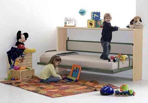 Mucha cama y poco espacio soluciones - Hacer una cama abatible ...