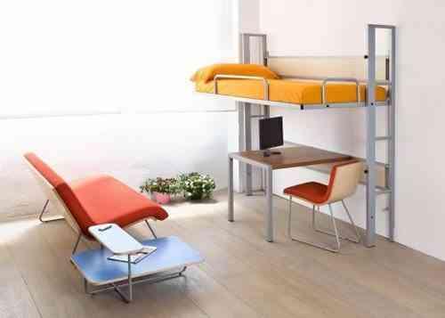 Mucha cama y poco espacio soluciones - Soluciones escaleras poco espacio ...