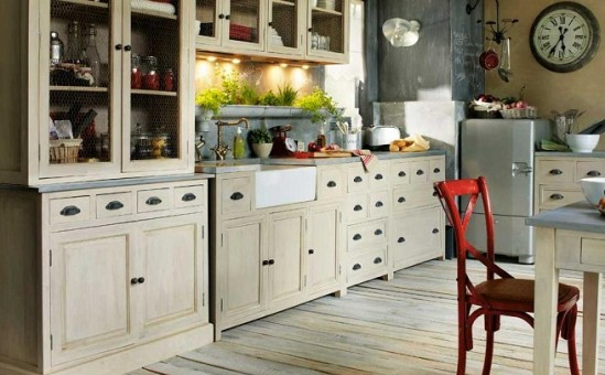 Estilo Vintage en tu Cocina