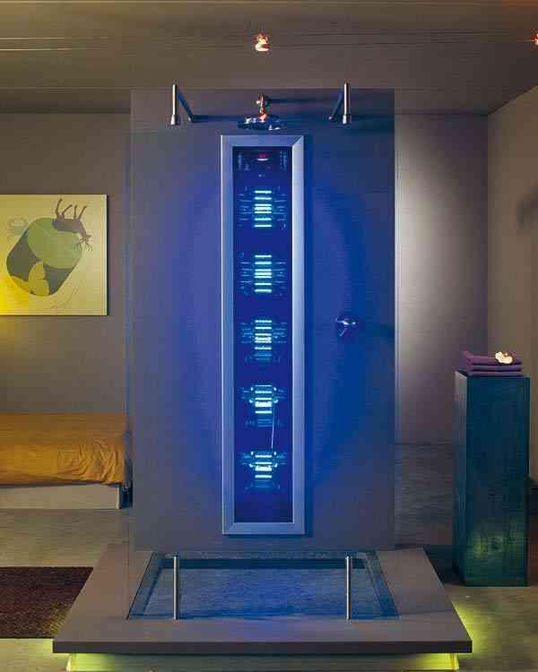 Tendencia duchas m s que una simple ducha for Modelos de duchas modernas