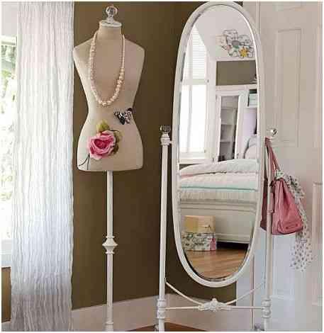 espejo y maniquí