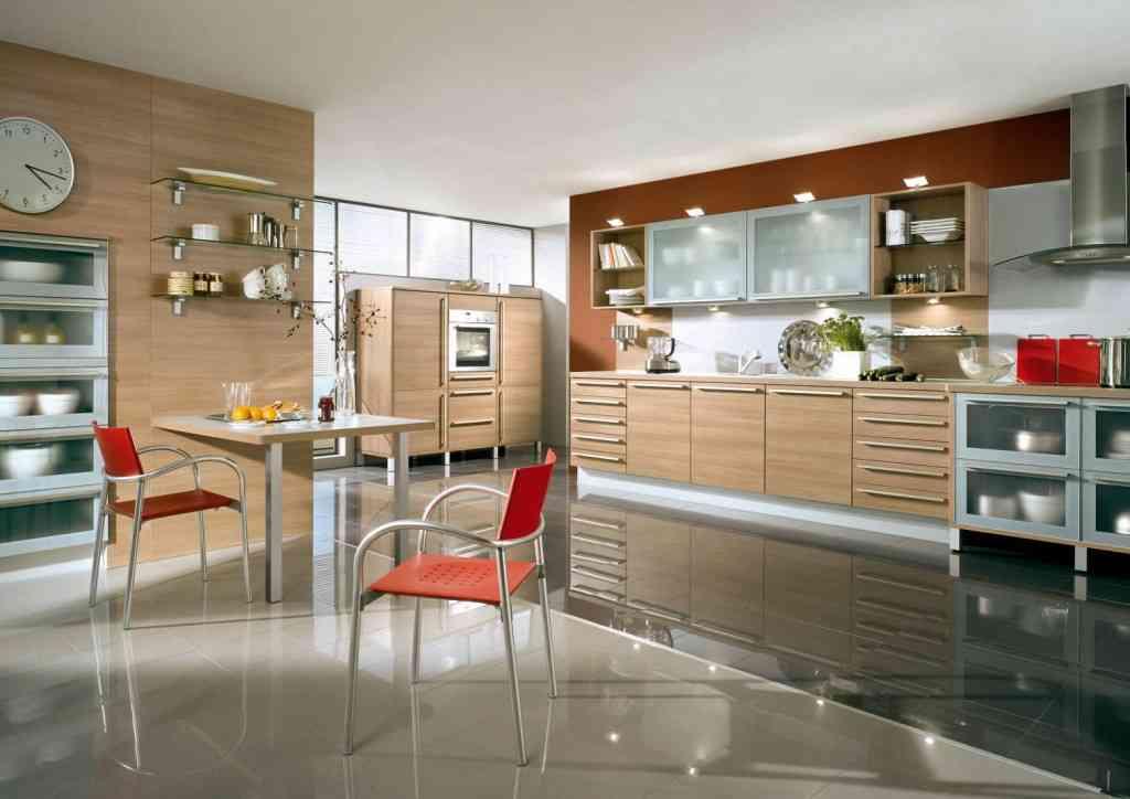 amplia y bella cocina