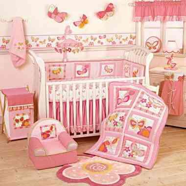 Decoración del cuarto del bebé con seguridad