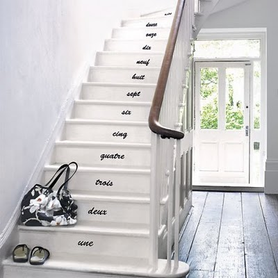 Ideas De Escaleras Decoradas - Decoracion-de-escaleras