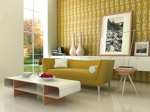 living room design decor idea green room
