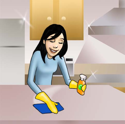 Maxima Limpieza En La Cocina