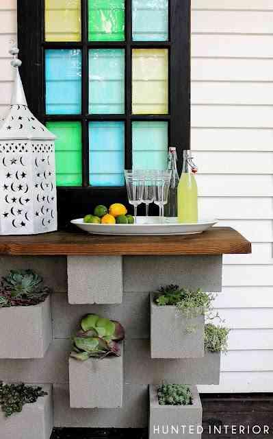 mueble-bar para exterior