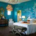 decoracion de dormitorio azul