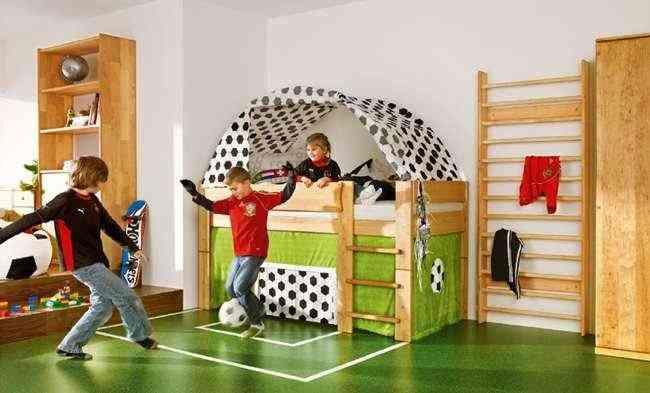 dormitorio Eurocopa infantil