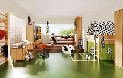 habitación infantil fútbol Eurocopa