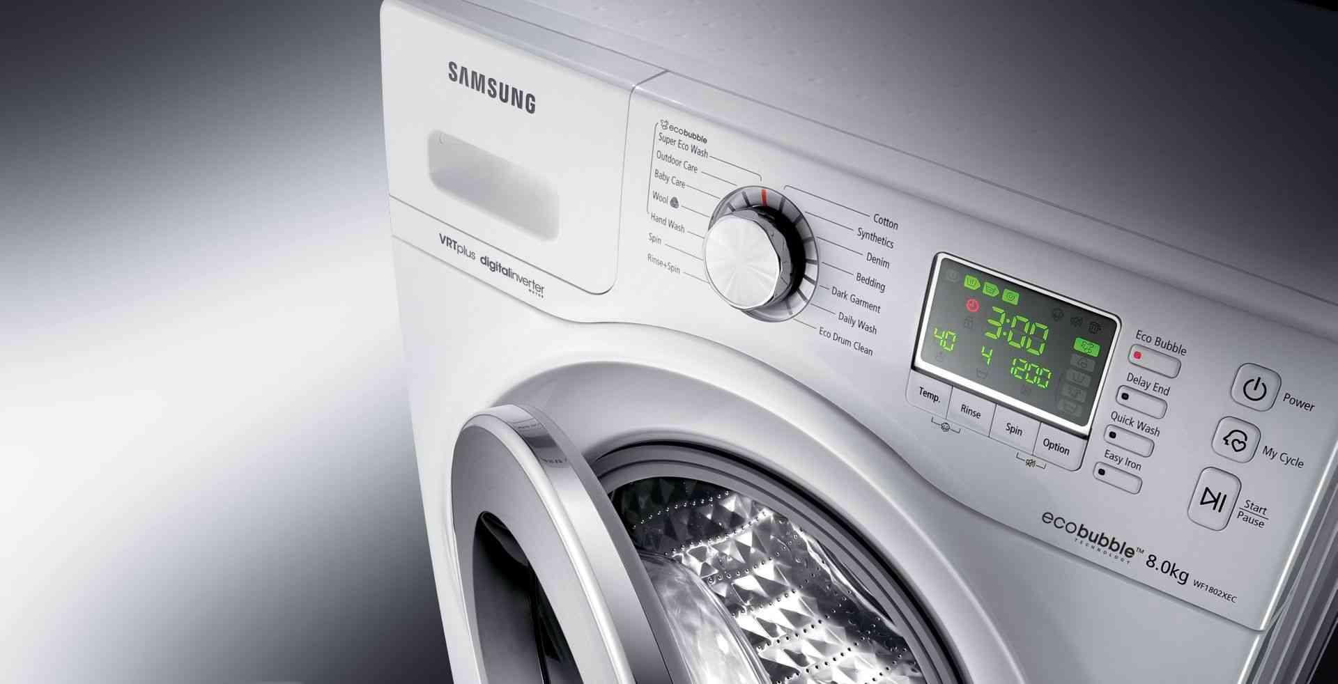 Sistema de lavado - samsung ecobubble, sistemas de lavado