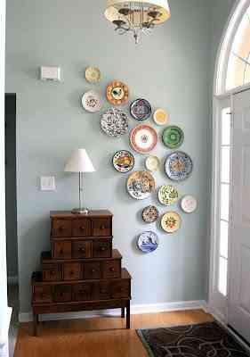 decorar con platos
