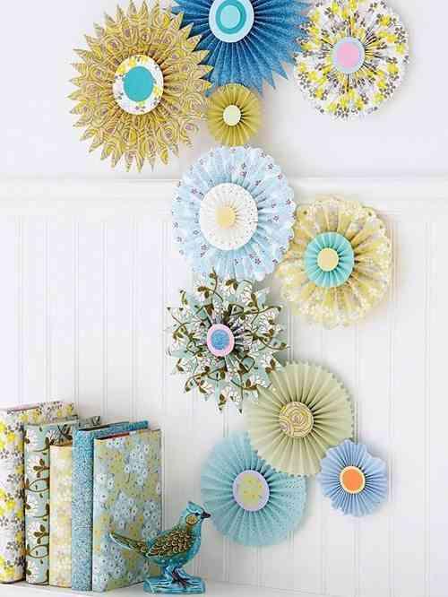rosetones de papel