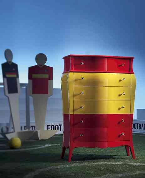 Mueble Aparador con bandera de España, La Selección