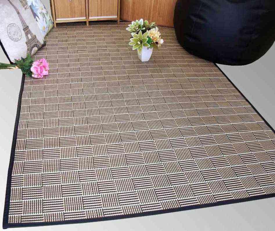 alfombras en verano - Alfombra de bambú de La Tienda Wapa