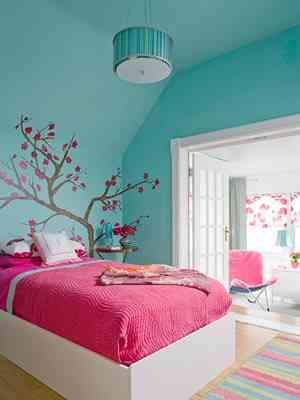 Habitaciones Infantiles Color Lila.Los Colores Decoracion Habitaciones Infantiles Parte I