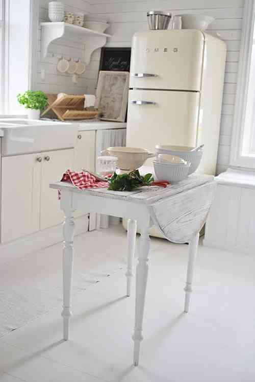 Una solución práctica para una cocina pequeña