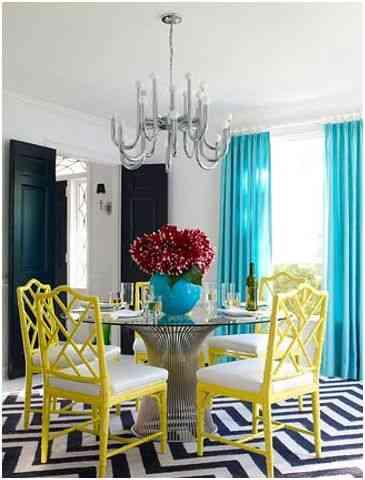 Mesas redondas para decorar el comedor