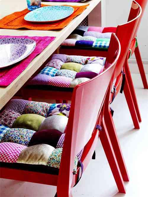 mesa y textiles