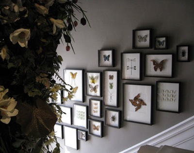 decorar con mariposas
