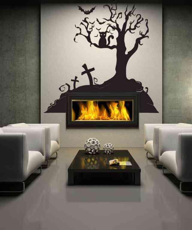 chimenea-de-halloween-vinilo