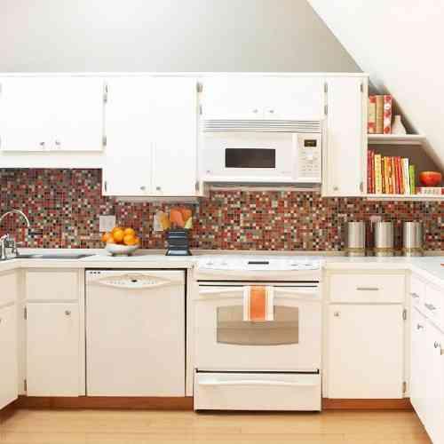 Decoraci n de cocinas con azulejos for Cocinas de concreto forradas de azulejo