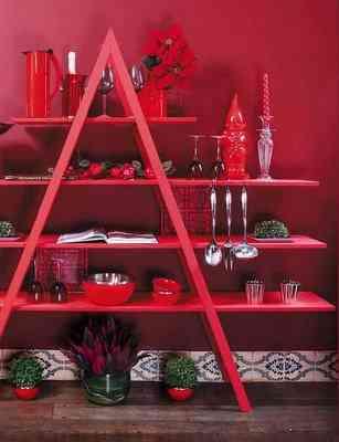 decoracion de cocina con escalera