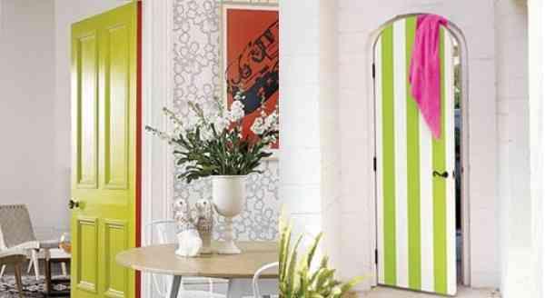 Decorar la puerta for Como decorar una puerta