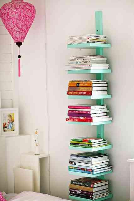 estantería original para libros