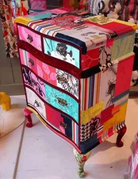 mesa de patchwork