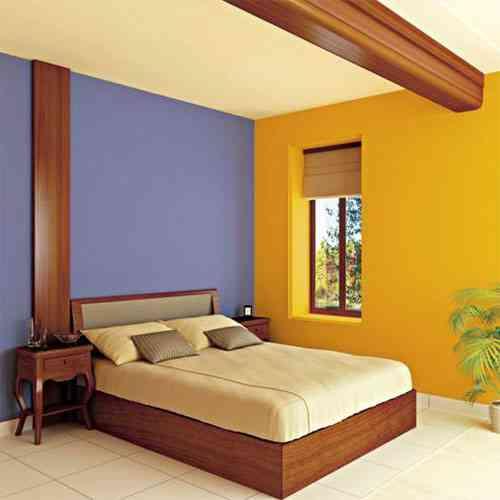 Decorar dormitorio azul con amarillo for Decoracion piso 1 habitacion