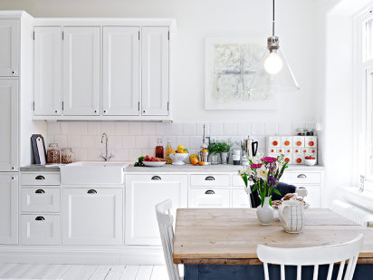 Ideas cocina n rdica - Mesas de cocina pequenas baratas ...