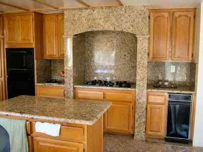 decoracion de cocina de granito