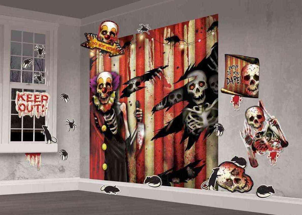 Ideas para ahorrar en la decoraci n para halloween for Decoracion para puertas halloween