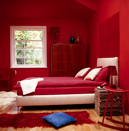 decoración rojo y blanco