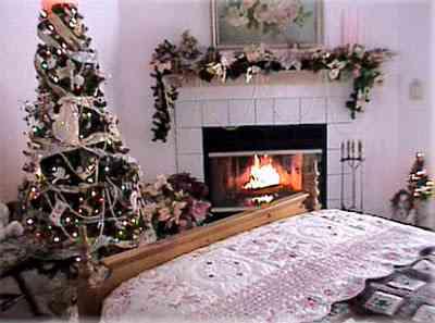 decorar dormitorio para navidad