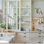 cocinas decoradas en blanco