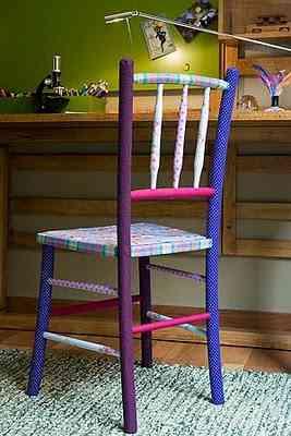 sillas forradas
