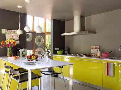 decoracion con amarillo