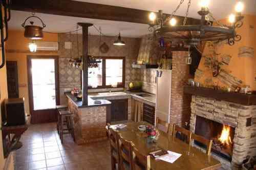 Cocina campera en nuestra casa - Cocinas camperas rusticas ...