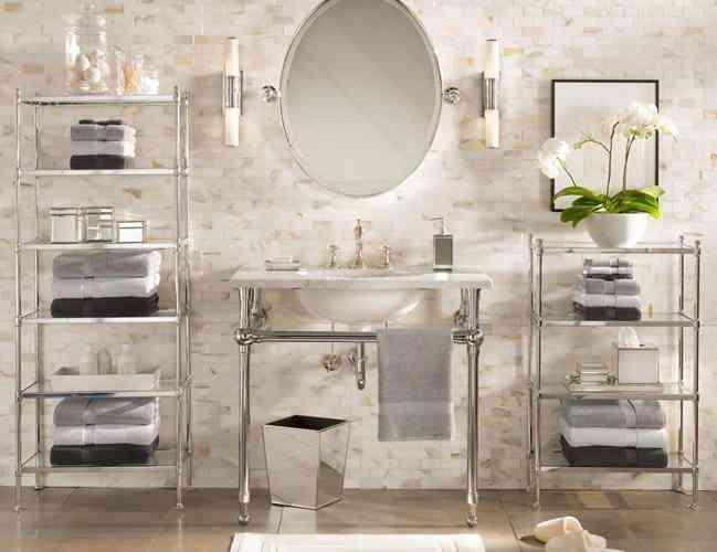 decoracion de un baño victoriano