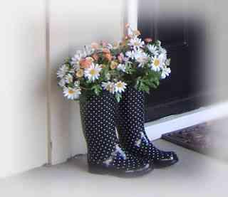 reciclar botas de agua