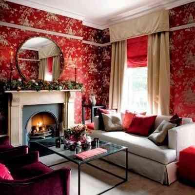 decoracion en rojo