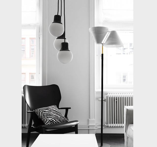 estancia en blanco y negro