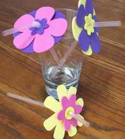 Ideas para decorar con flores de goma eva