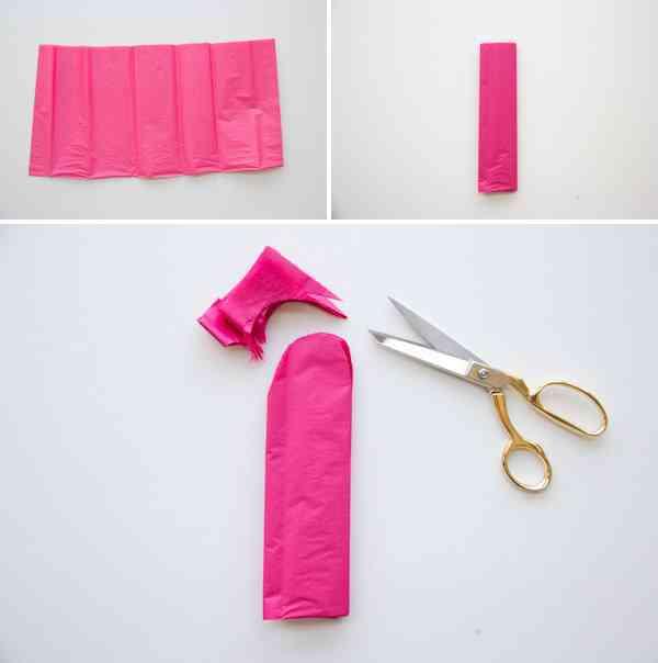 Manualidad papel tisu