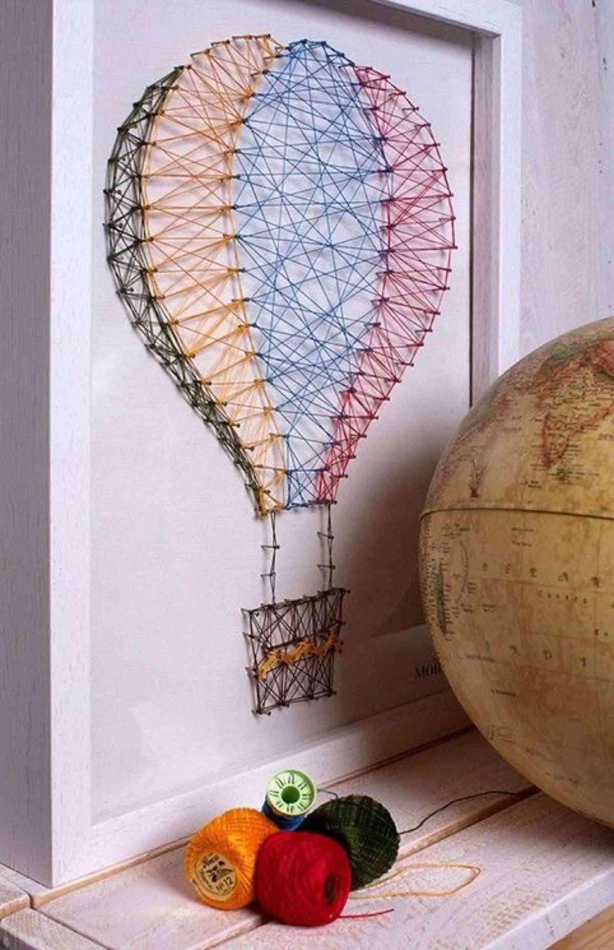 Hilorama el arte de decorar con cuadros de hilo clava - Cuadros decoracion hogar ...
