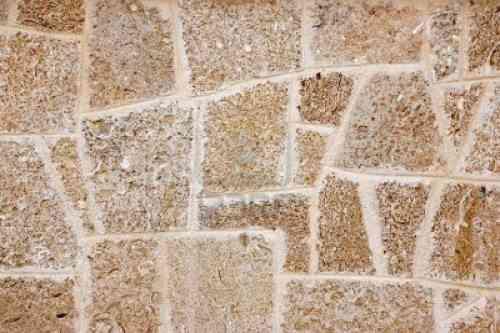 decorar la cocina con efecto de bloques de piedra