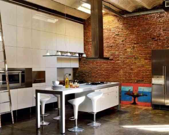 Decorar una cocina con estilo industrial - Aplicacion decoracion de interiores ...