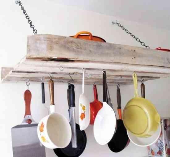 decorar la cocina con pallet